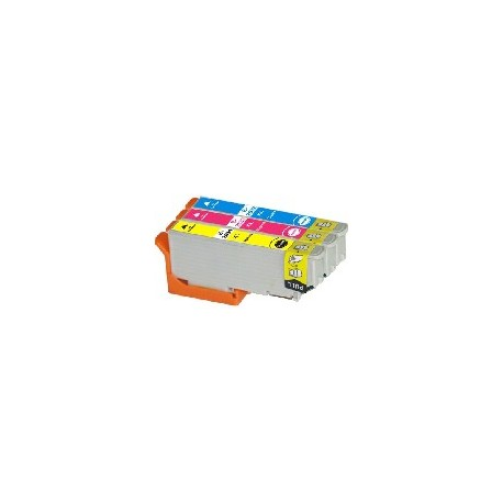 PACK 3 CARTOUCHES C/Y/M Type EPSON T2432/33/34