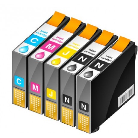 PACK 2 CARTOUCHES D'ENCRE Type: EPSON T0805/06