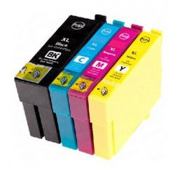 ECOPACK 4 CARTOUCHES B/C/Y/M Type EPSON T3596