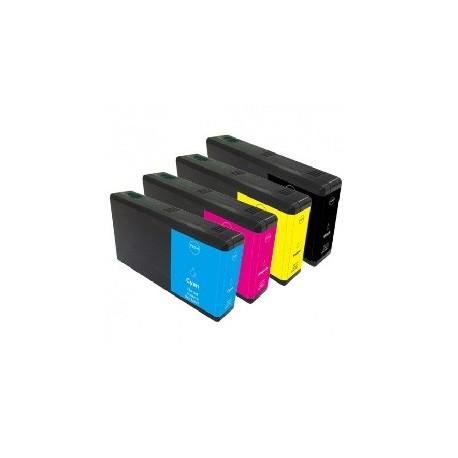 RECHARGE d'encre jaune pour ECOTANK type EPSON L555/L355/14000/2500/4500