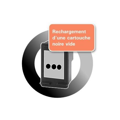 RECHARGEMENT CARTOUCHE D'ENCRE noire Type HP 302xl