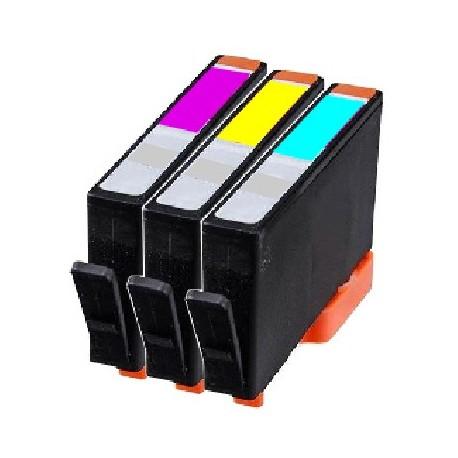 ECOPACK 2 CARTOUCHES D'ENCRE Type HP 62xl noire et couleurs