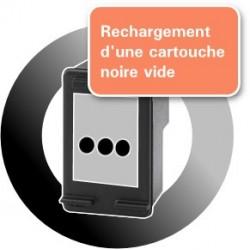 RECHARGEMENT CARTOUCHE D'ENCRE Type HP 62xl noir