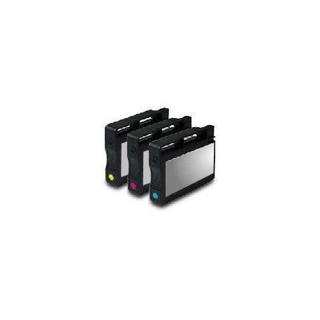 PACK 3 CARTOUCHES D'ENCRE Type HP 933xl C/Y/M
