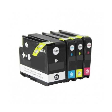 ECOPACK 4 CARTOUCHES D'ENCRE Type HP 932/933xl B/C/Y/M
