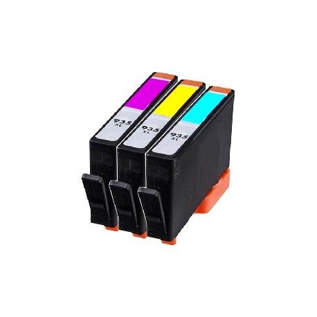 PACK 3 CARTOUCHES D'ENCRE Type HP 935xl C/Y/M