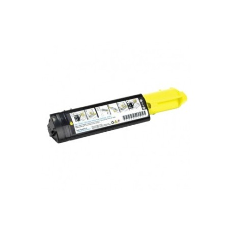 TONER Type DELL 593-10063 ou DELL 3100 YELLOW