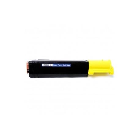 TONER Type EPSON C13S050187 ou C1100 YELLOW