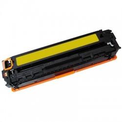 TONER Type HP CB542A ou HP CE322A-128A ou HP CF212X-131X ou CANON CRG731Y ou CANON CRG716Y