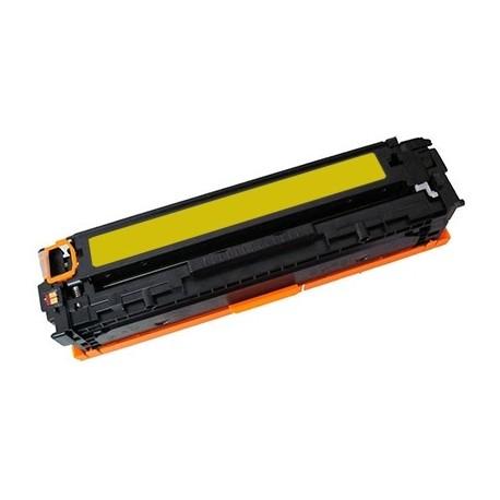 TONER Type HP CC532A-304A ou HP CF382A-312A ou HP CE412-305A ou CANON CRG718Y