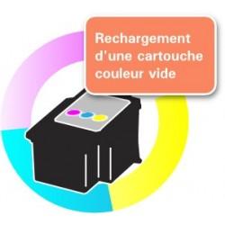 RECHARGEMENT CARTOUCHE D'ENCRE Type CANON CL-511/513