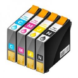 ECOPACK de 4 cartouches NOIRE/CYAN/JAUNE/MAGENTA Type EPSON 603xl