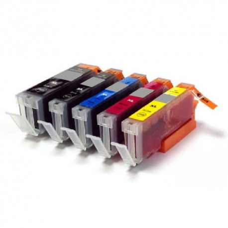 ECOPACK 5 CARTOUCHES D'ENCRE Type: EPSON T1631xl/32xl/33xl/34xl